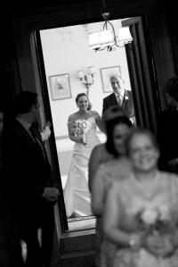 Bride's entrance